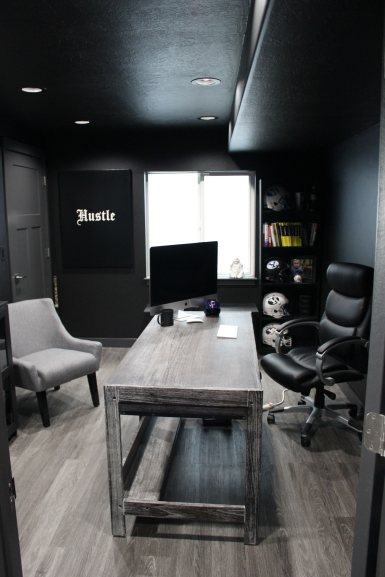 After: basement office