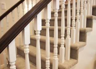 Staircase in Clinton, Utah