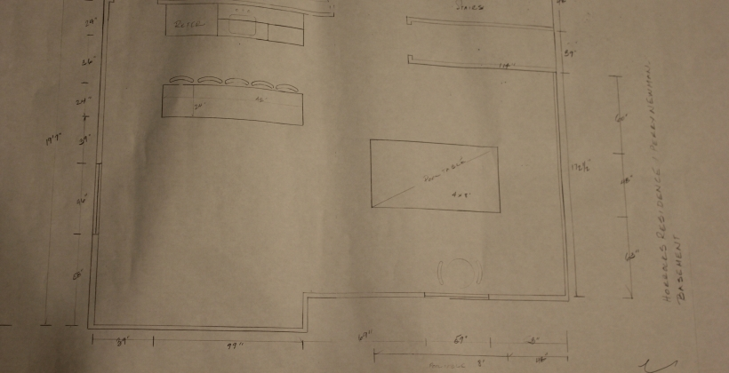 design, plan, mock up, remodel, finish basement