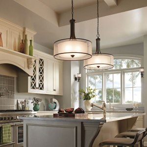 Custom kitchen in off white