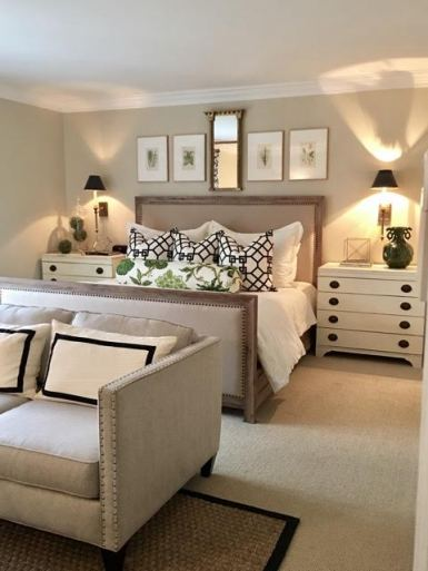 Perry Newman Design bedroom