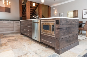 Kitchen cabinetry in Utah home