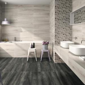 Ceramic tiled bathroom