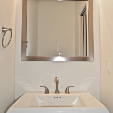Draper Powder Room Sink (after)