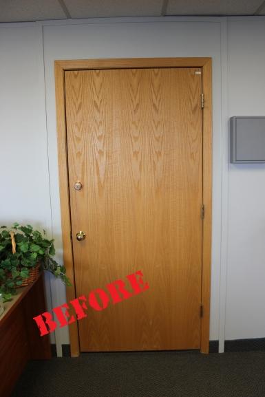 Call Center Door (before)