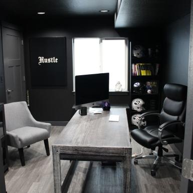 Bluffdale Basement Office (after)