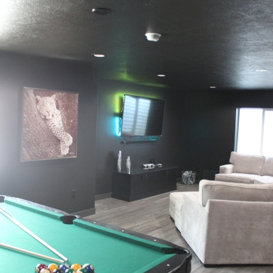 Bluffdale Media Room (after)