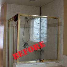 Draper Master Shower (before)