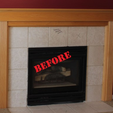 Draper Fireplace (before)