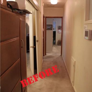 Provo Hallway (before)